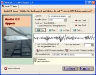 Screenshot von CD to MP3 Ripper 2.0.